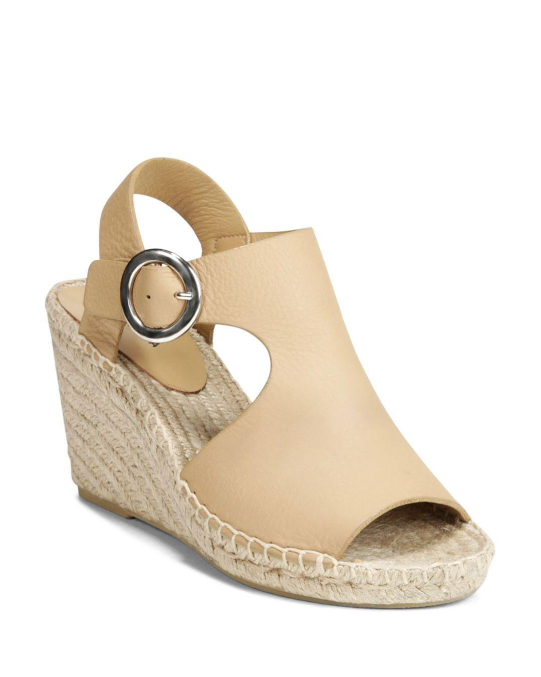 7981db228a31 Via Spiga Women s Nolan Espadrille Wedge Heel Sandals in Natural - Lyst
