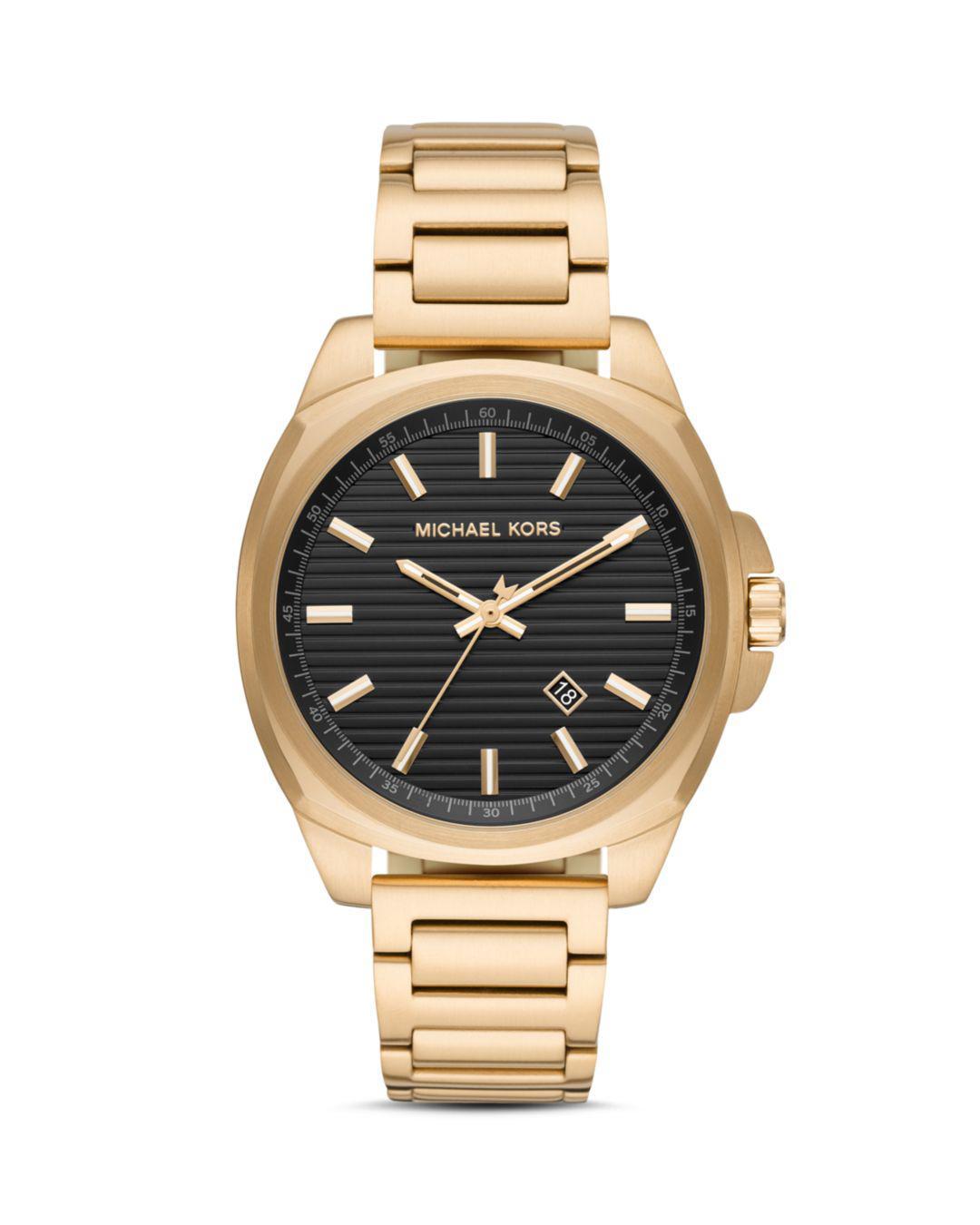 e054372bcbd5 Michael Kors - Metallic Bryson Bracelet Watch for Men - Lyst. View  fullscreen