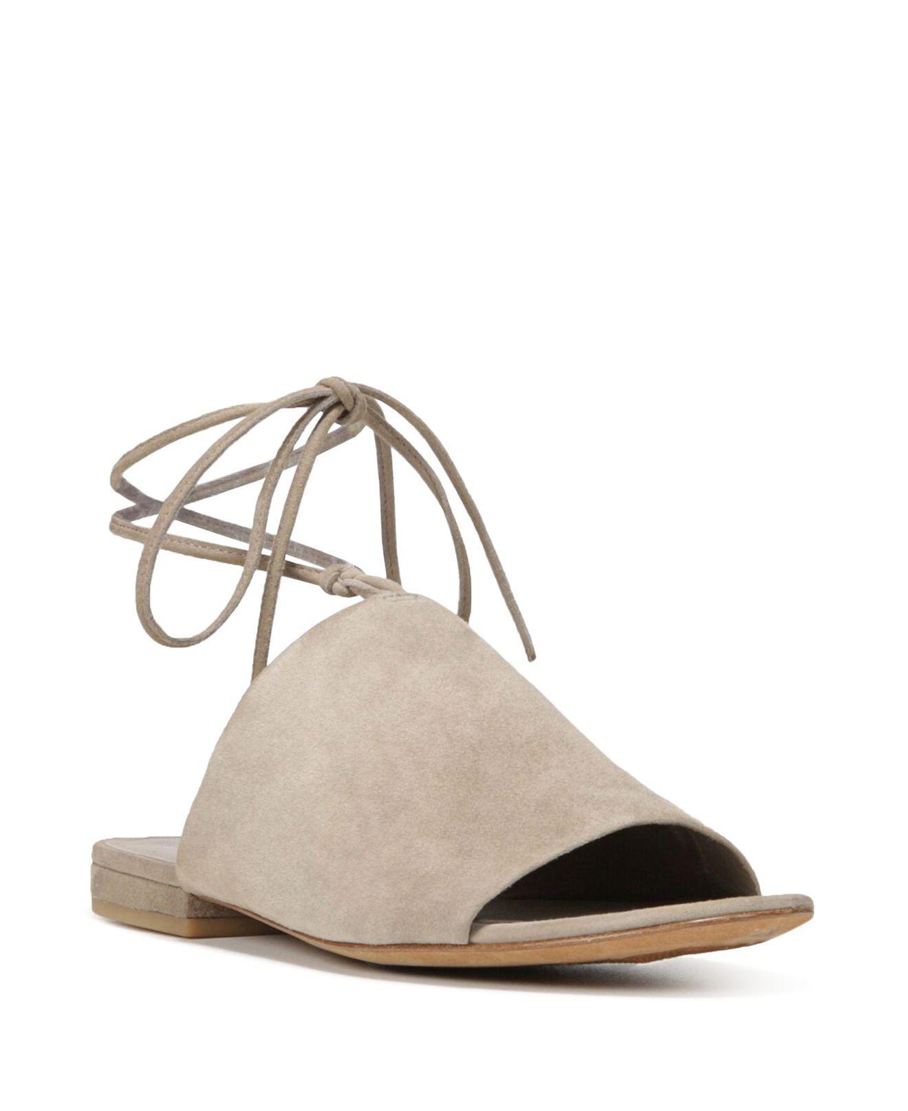 Vince Damon Lace-Up Leather Sandal (Women's)