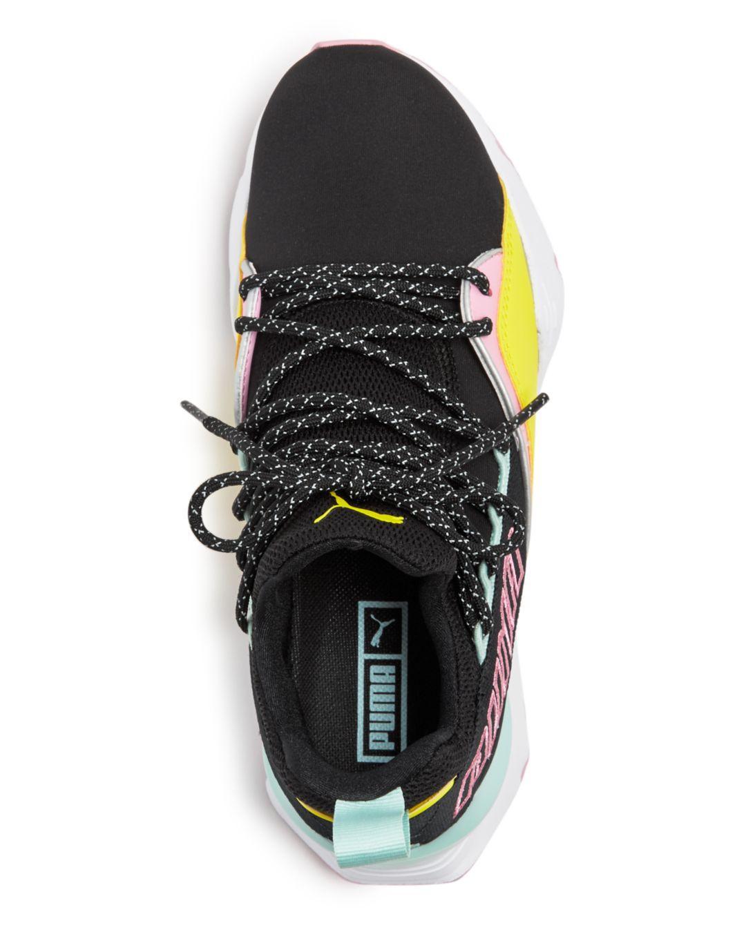 23a10c73b1de PUMA - Multicolor Women s Muse Maia Tz Knit Low-top Sneakers - Lyst. View  fullscreen