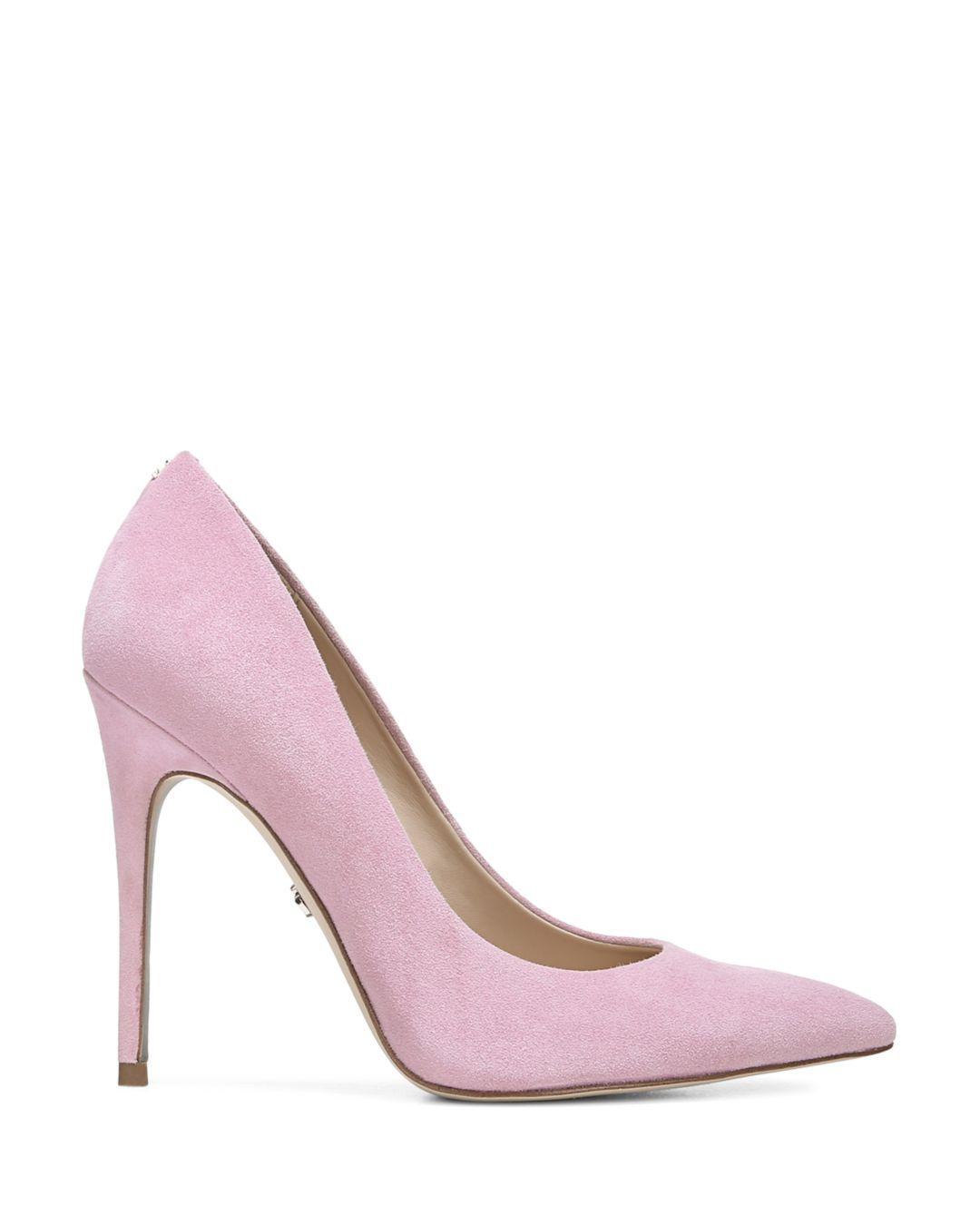8ba9290d225e40 Lyst - Sam Edelman Women s Danna Stiletto High-heel Pumps in Pink