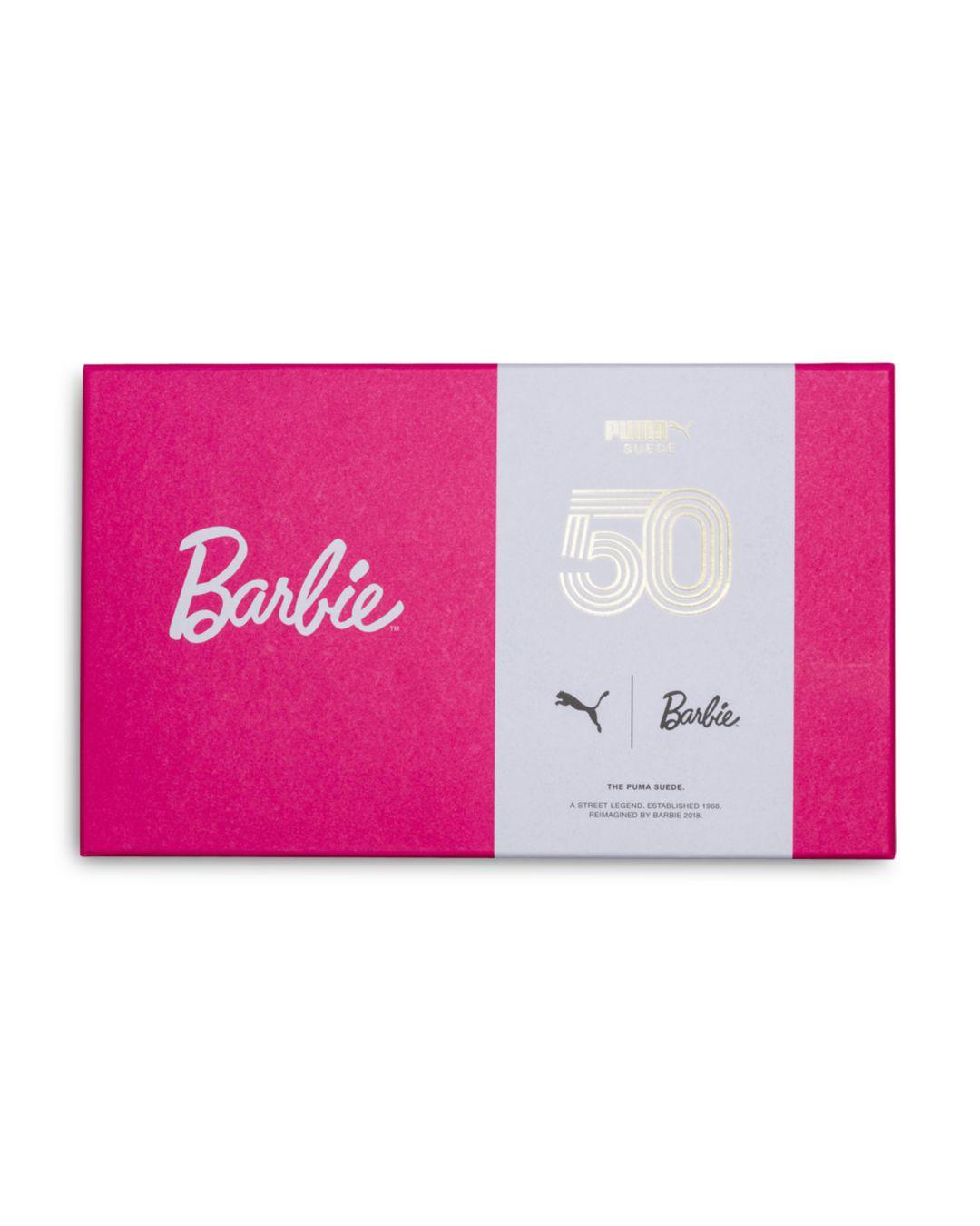 5ac4401ece2d65 PUMA - Black Suede Barbie Casual Sneakers From Finish Line - Lyst. View  fullscreen