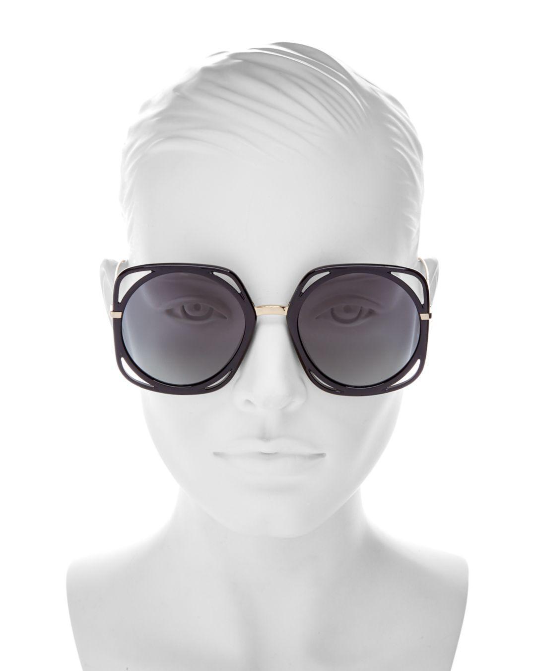 9397ca2cf Dior Women's Direction Square Sunglasses - Lyst