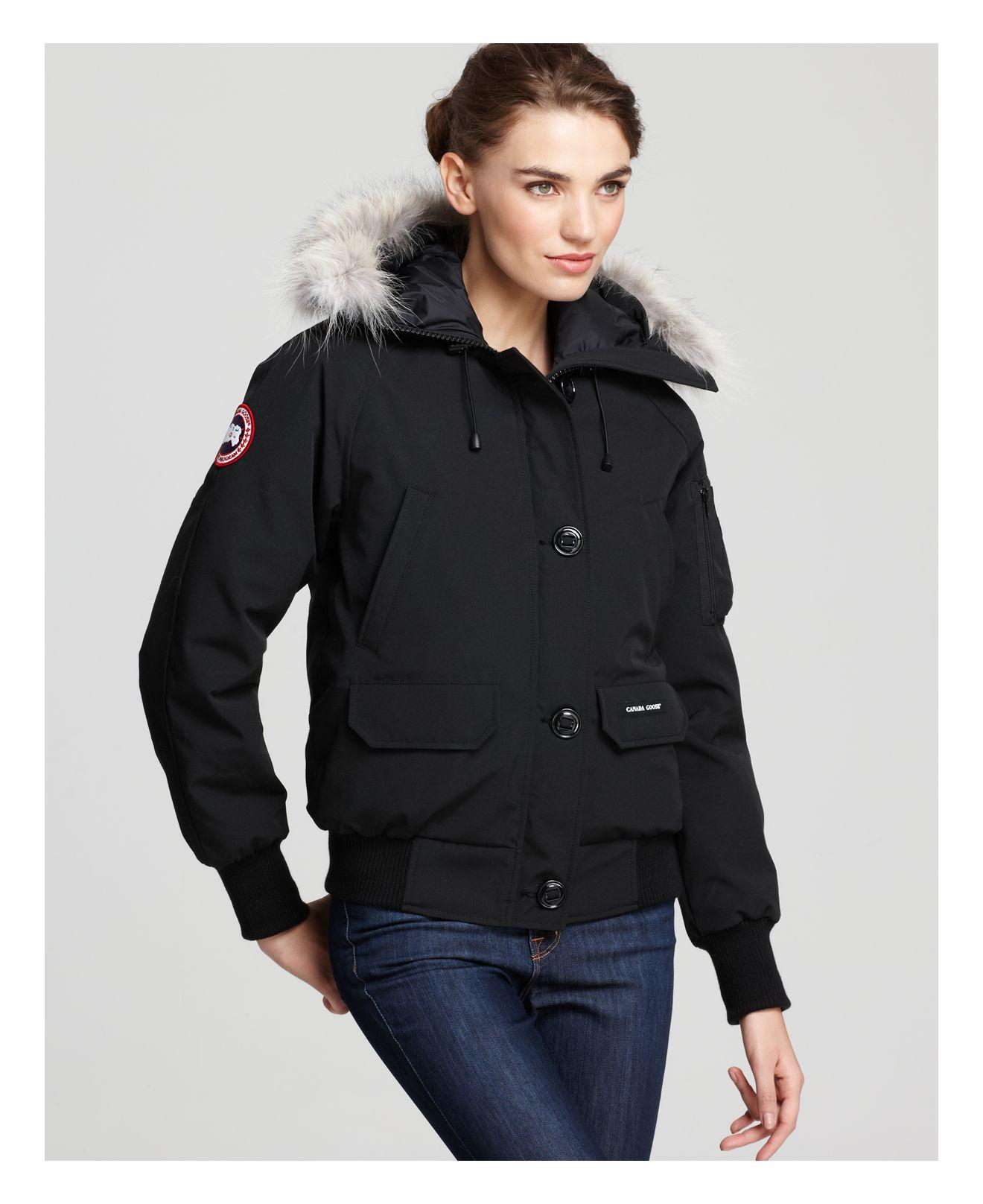 60fbbc1d6c2 Lyst - Canada Goose Rossclair Parka Fusion Fit in Black