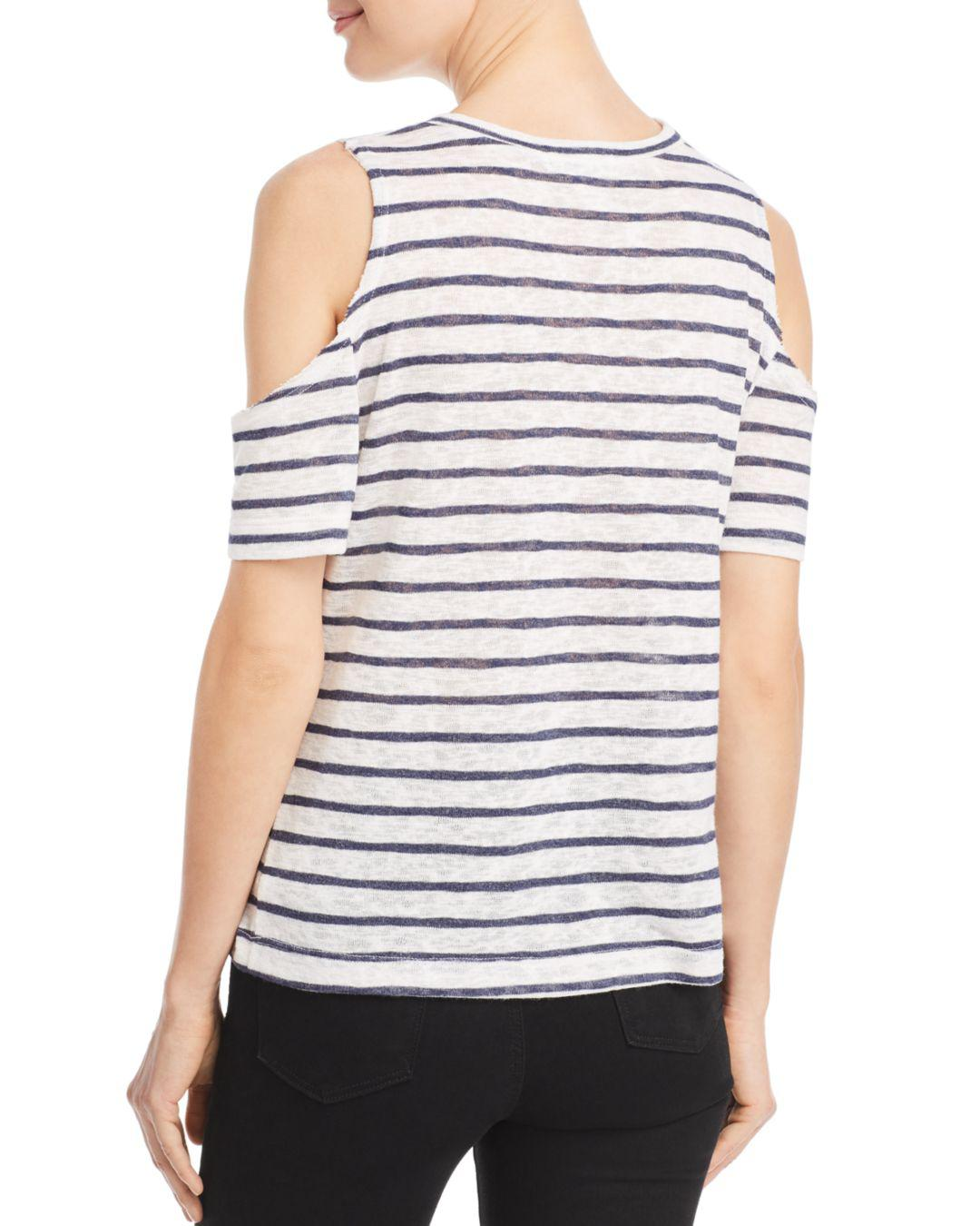 29a5a0665d LNA Avalanche Striped Tee in Blue - Lyst