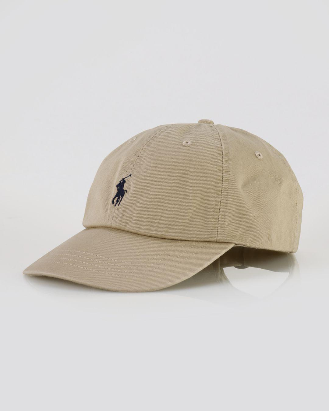 4dae18d377cc Lyst - Polo Ralph Lauren Signature Pony Hat in Blue for Men - Save 46%