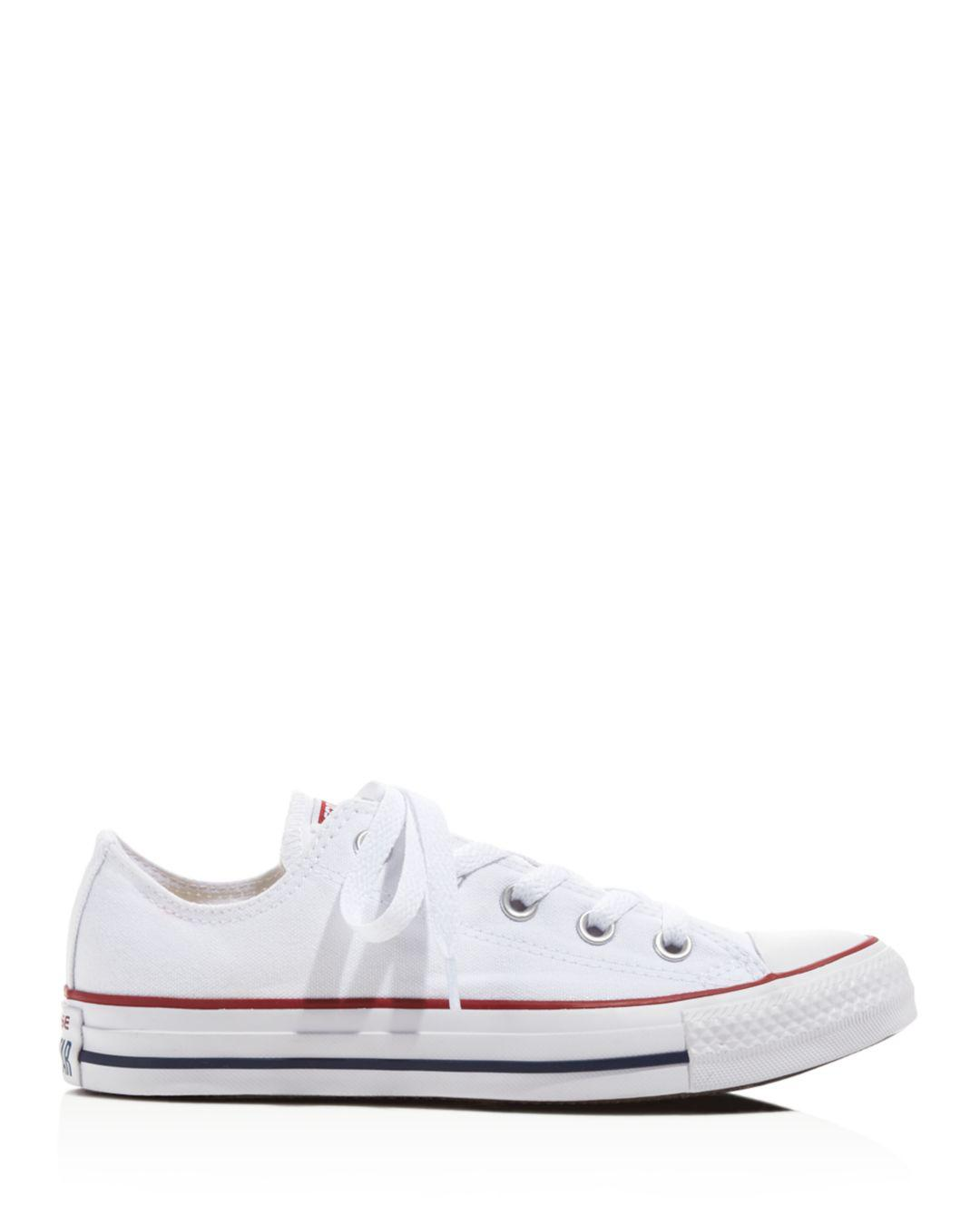 b4b9fad4da5a8c Lyst - Converse Women s Chuck Taylor All Star Lace Up Sneakers in White