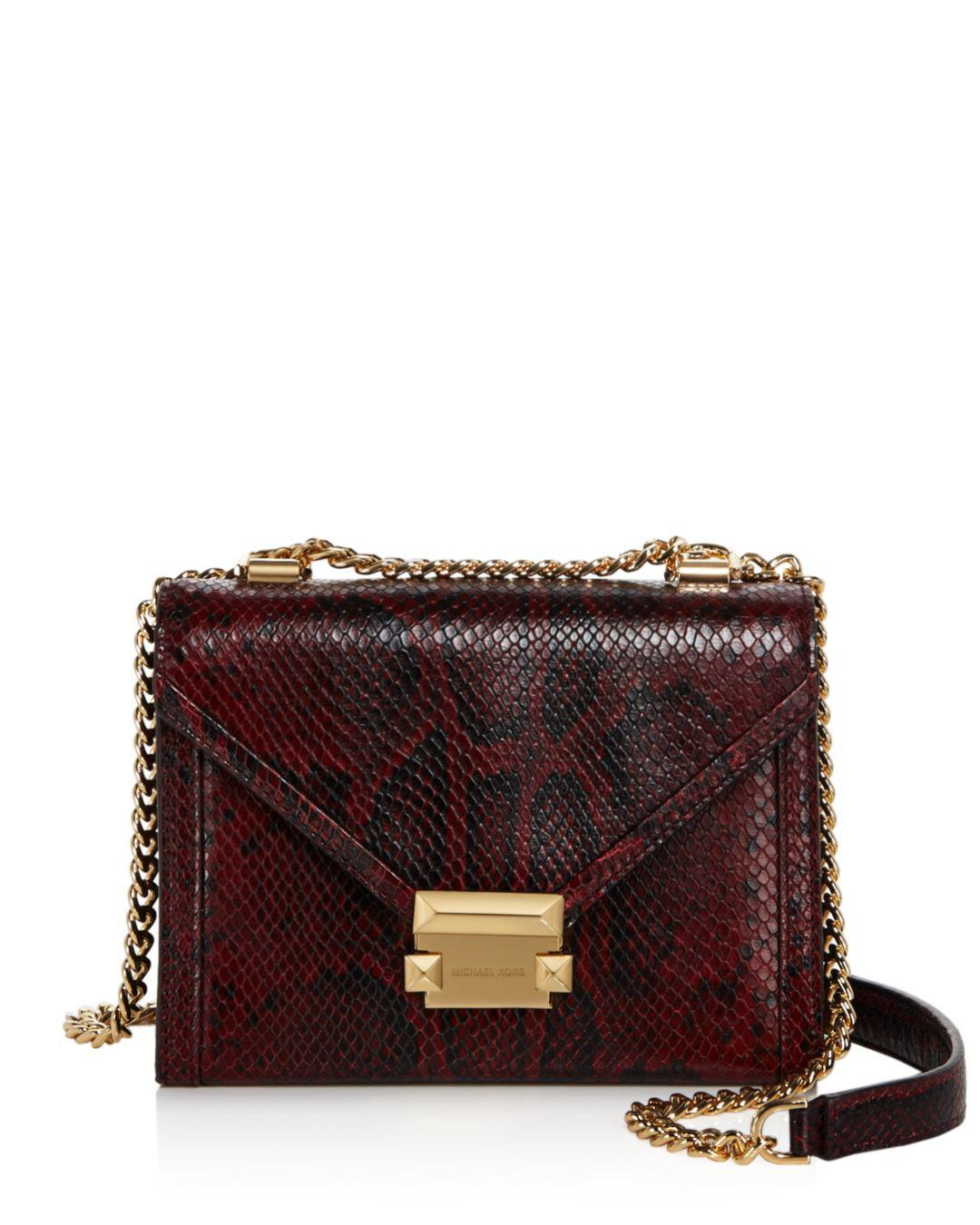 627689f0be9b MICHAEL Michael Kors. Women s Whitney Small Leather Shoulder Bag