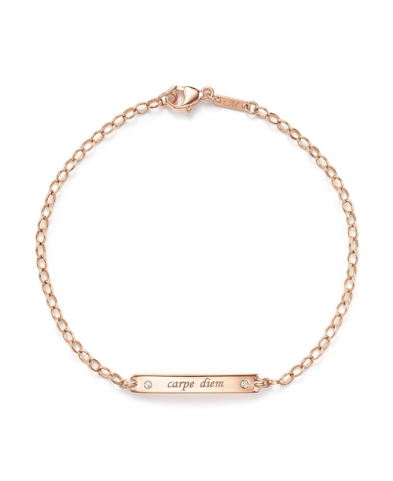 Monica Rich Kosann Carpe Diem Charm Bracelet in 18K Yellow Gold QUPhSqr