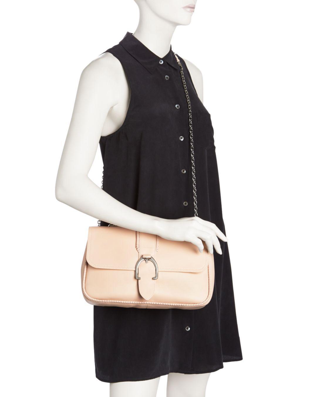 d96bfde8d77d Lyst - Longchamp Medium Leather Shoulder crossbody Bag - in Pink