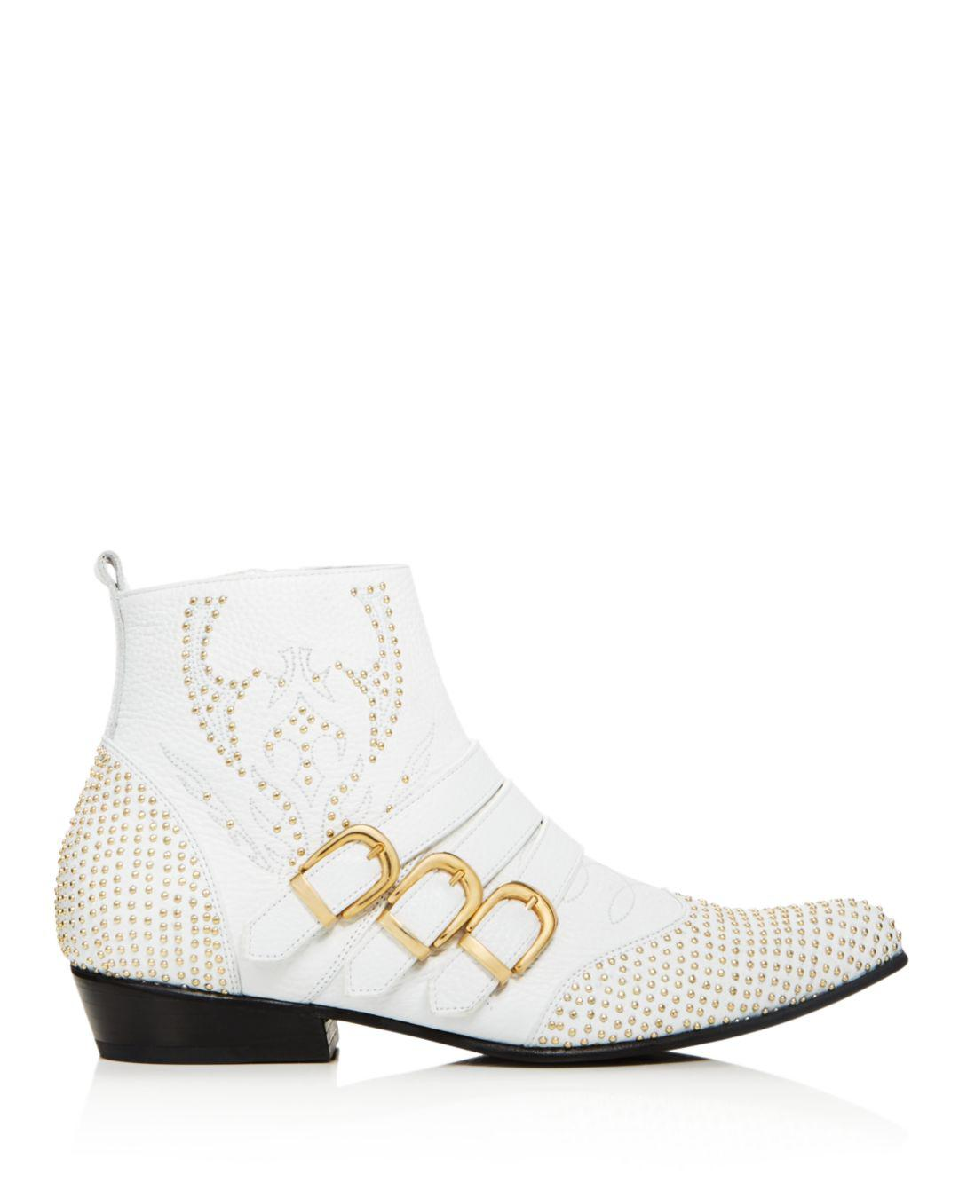 319e8f5c233f3 Lyst - Anine Bing Penny Boots in White - Save 50%