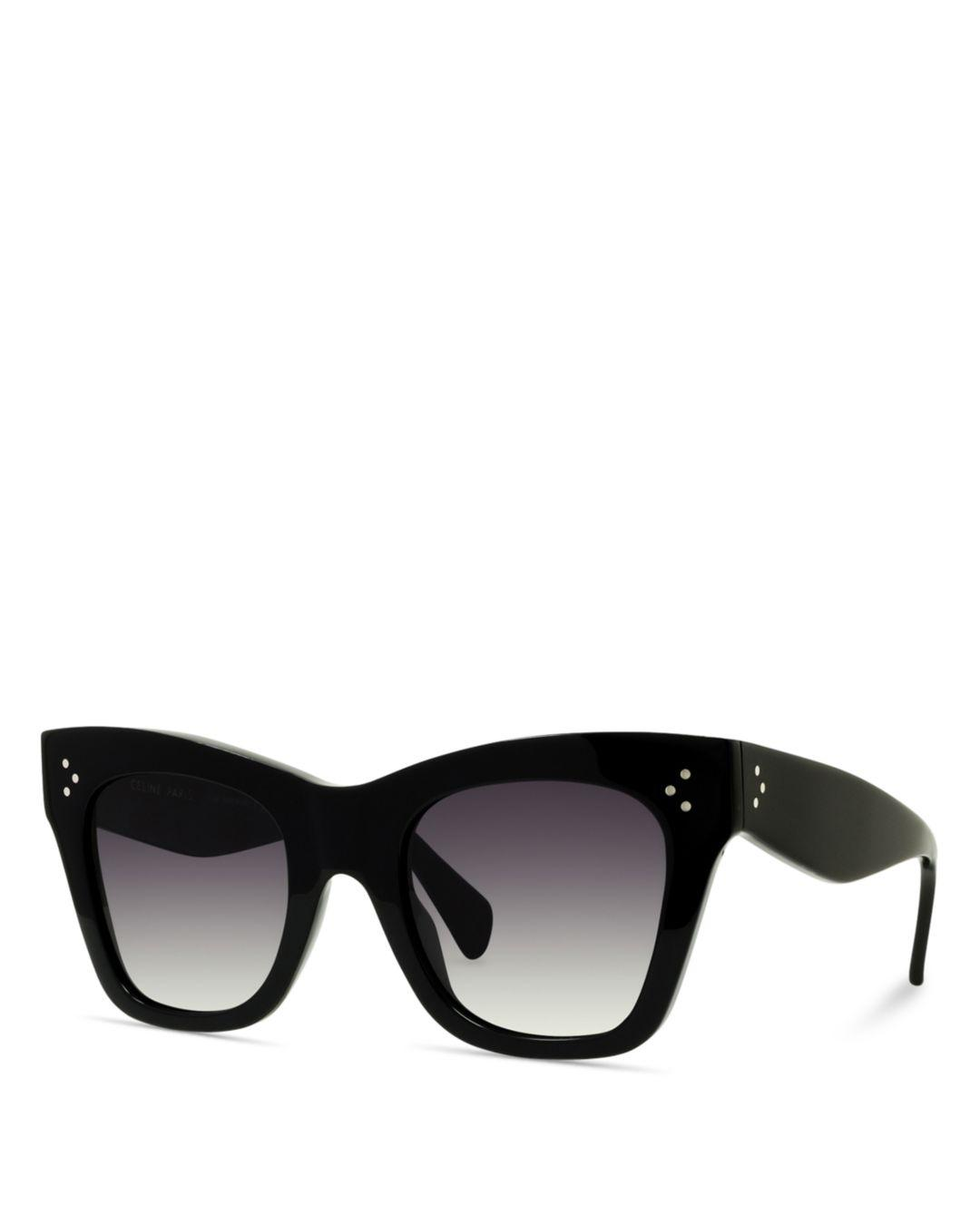 ec7a5adb648b Lyst - Céline 50mm in Black
