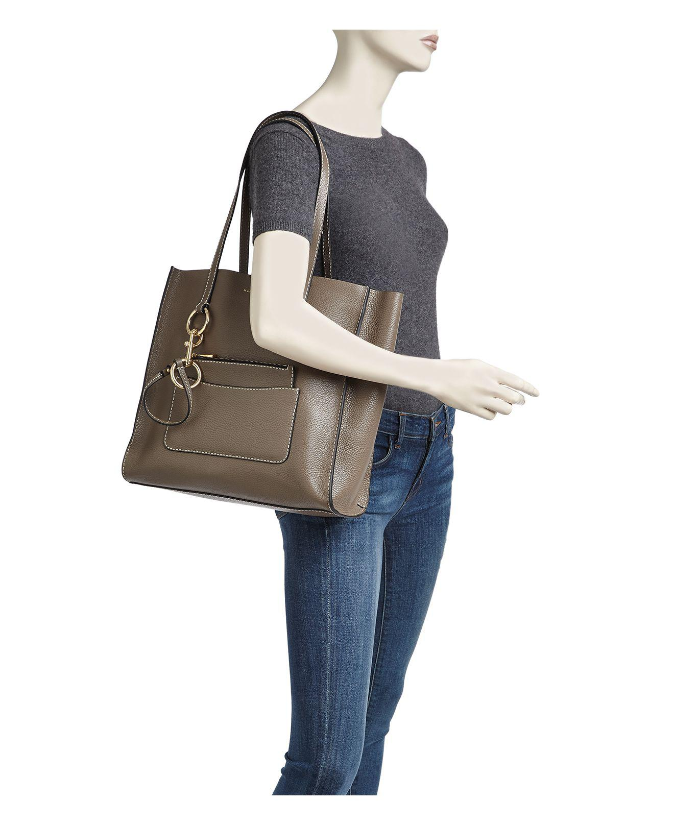 19050adf8129 Marc Jacobs The Bold Grind East west Leather Tote - Lyst