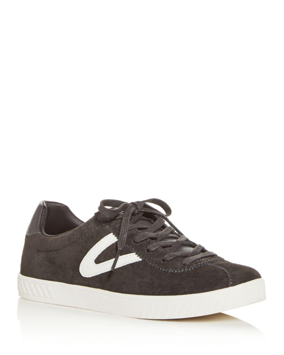 66ccedd560 Lyst - Tretorn Women s Camden Lace-up Sneakers in Gray