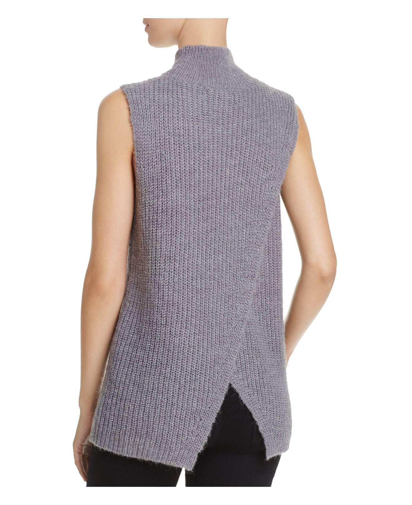 French connection Mathilde Knits Ribbed Sweater Vest | Lyst