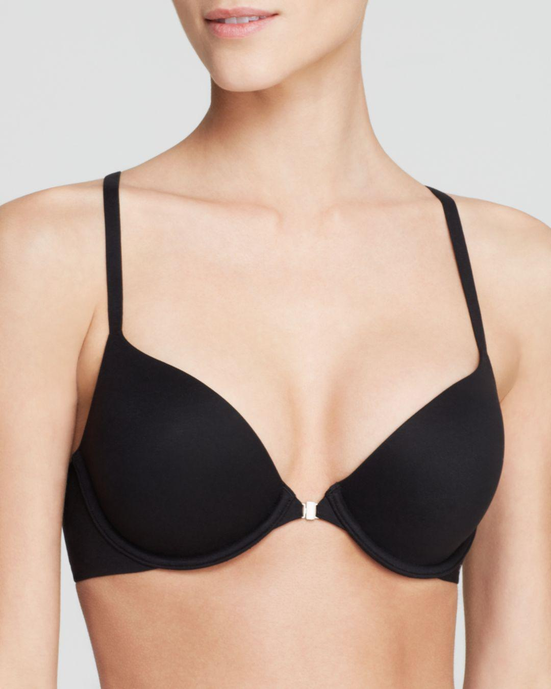 6df95db2c530e Calvin Klein. Women s Black Perfectly Fit Solution Memory Touch Racerback  Bra