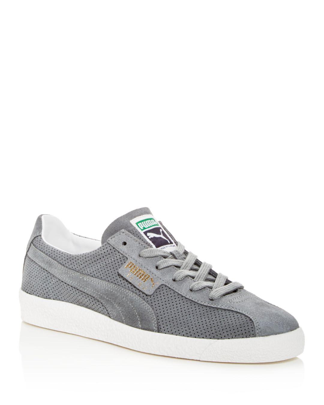 5e4b95837f9 Lyst - PUMA Men s Te-ku Summer Perforated Suede Lace Up Sneakers in ...