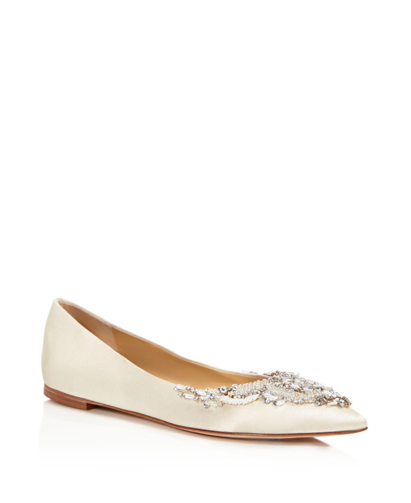 Ivory Women Shoes Flats