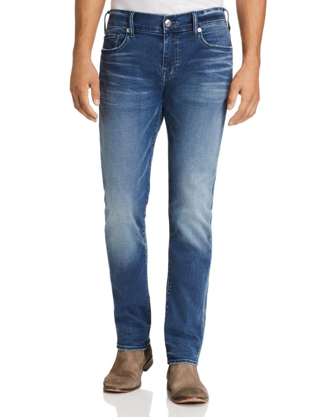 d5a84d77ba37 Lyst - True Religion Rocco Slim Fit Jeans In Baseline in Blue for Men