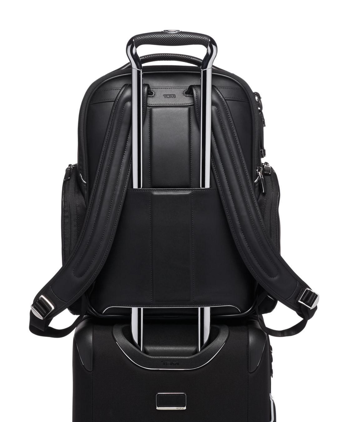 f636b5e53590 Lyst - Tumi Arrivé Barker Backpack in Black for Men - Save 5%