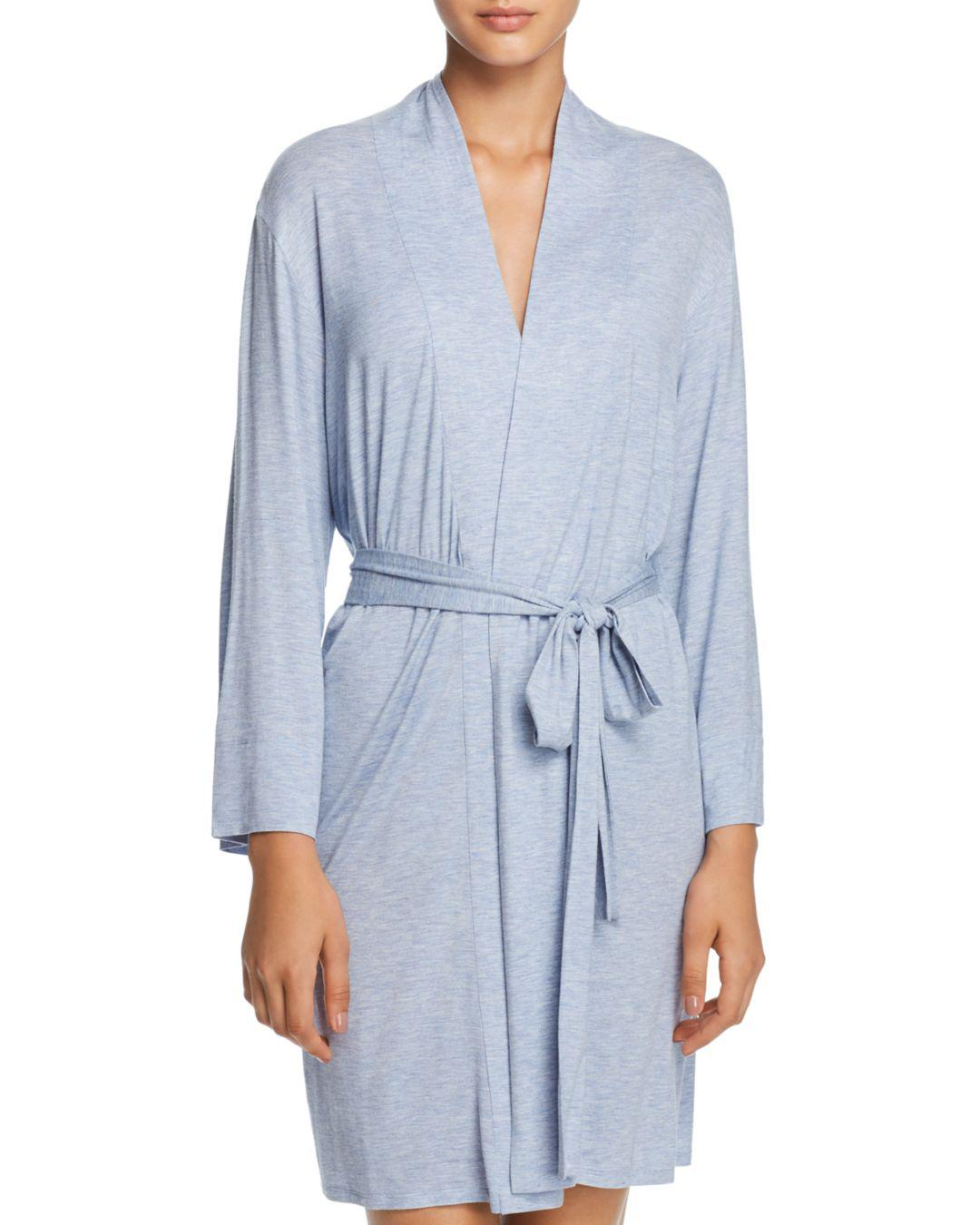 714e04cacd Lyst - Natori Feathers Essentials Wrap Robe in Blue