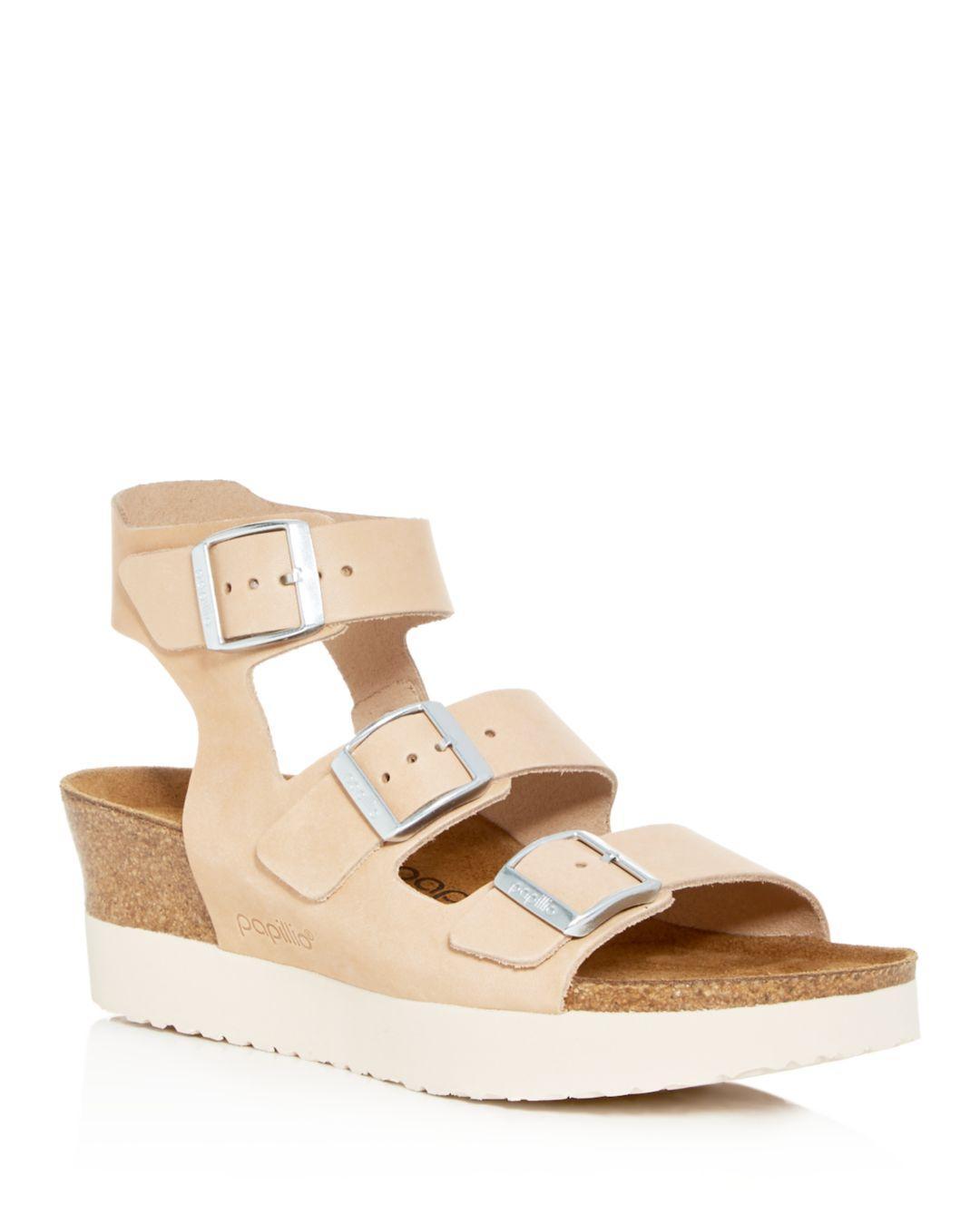 725d733eed05 Lyst - Birkenstock Women s Papillio By Linnea Platform Wedge Sandals ...