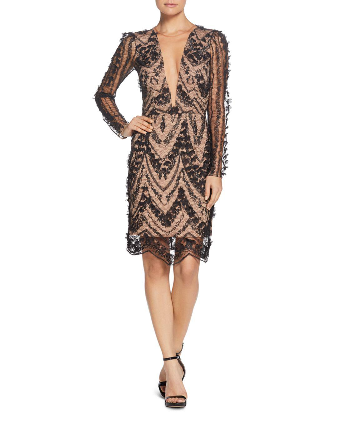 170070a17631 Lyst - Dress the Population Jamie Embellished Dress