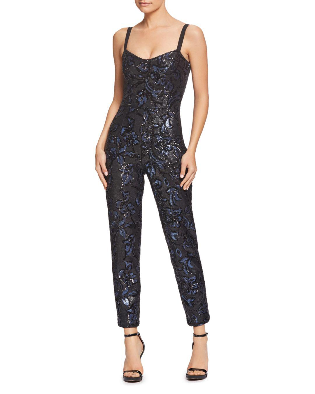 407c44bba2f Dress the Population. Women s Chloe Sequin Jumpsuit