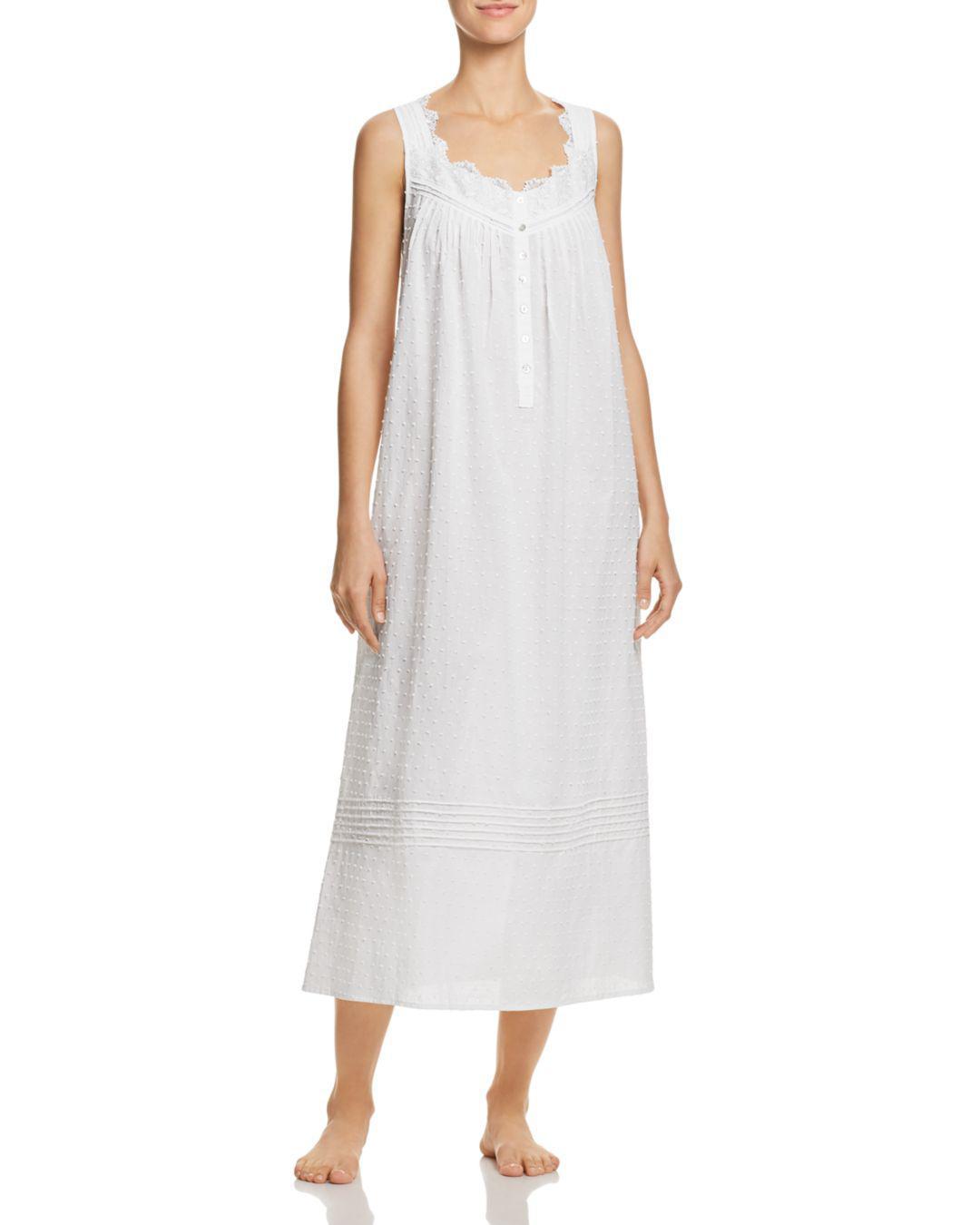7512a5b36f Eileen West Ballet Long Gown in White - Lyst