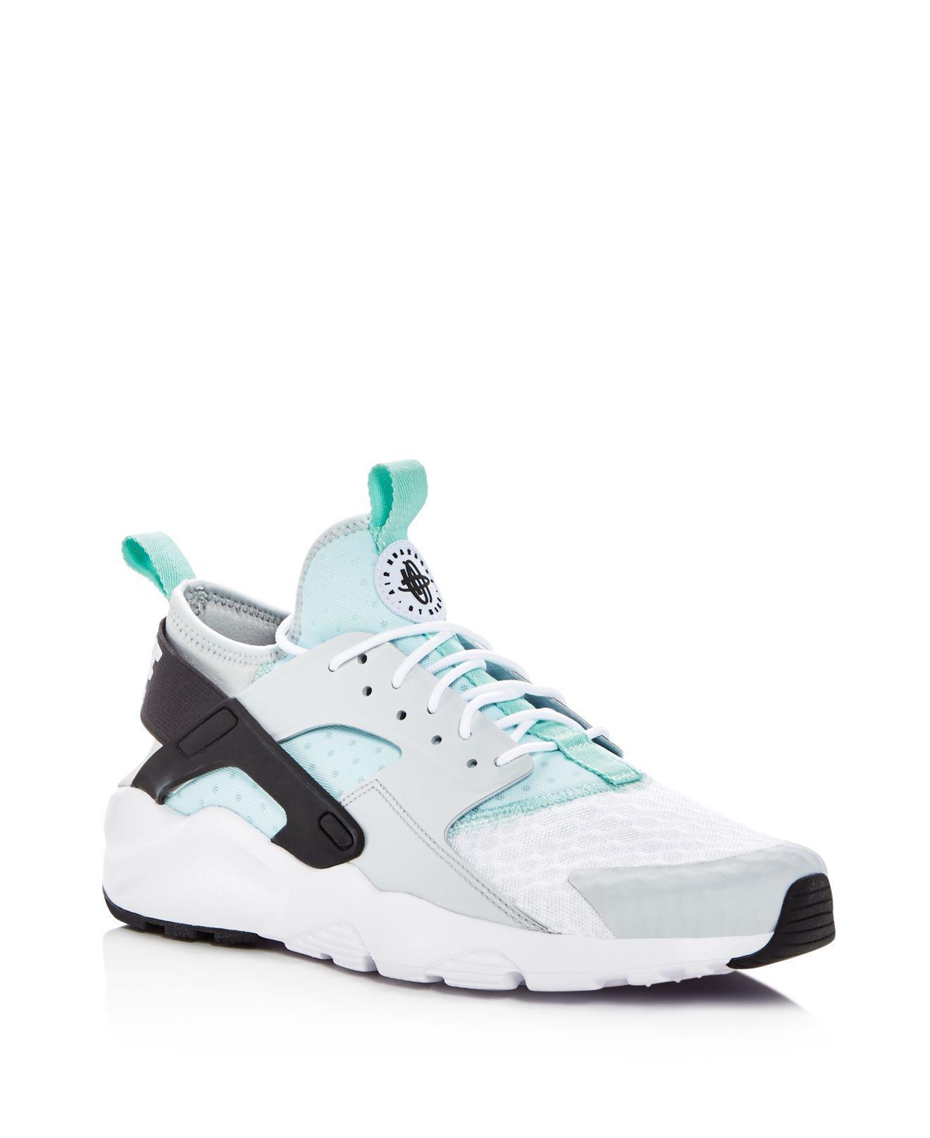 Nike Men's Air Huarache Run Ultra Lace Up Sneakers W18DIugT