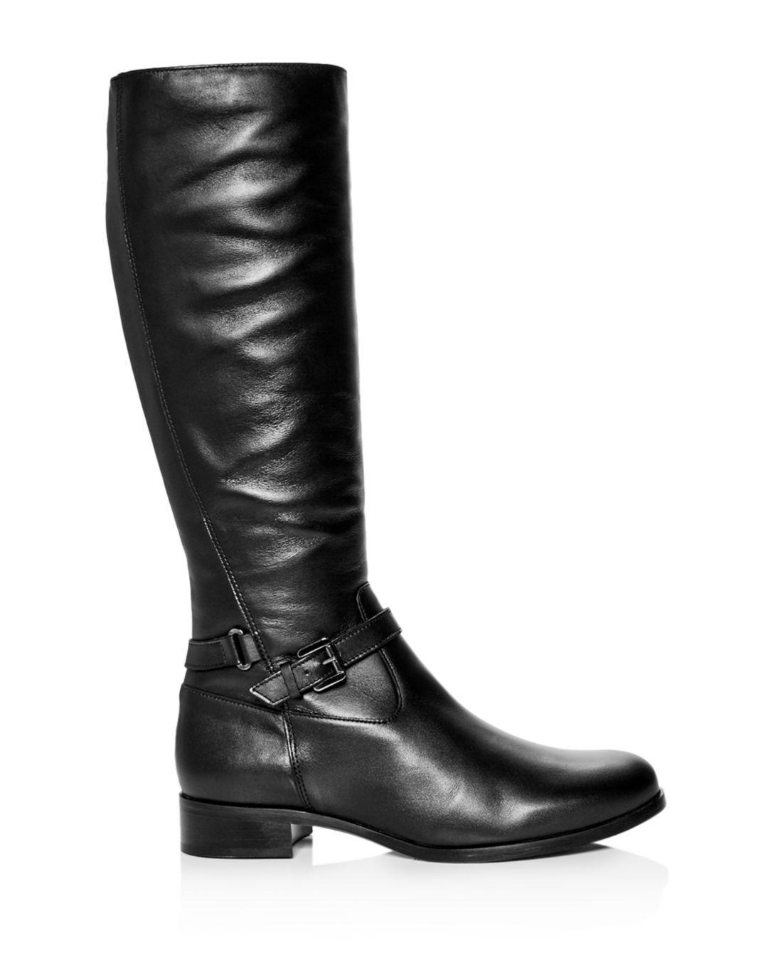 7b6116c371b Lyst - La Canadienne Women s Sunday Waterproof Leather Riding Boots in Black