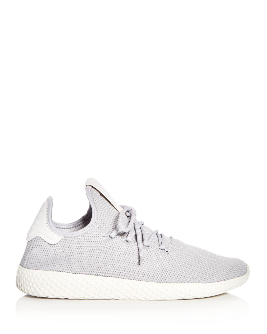af7b1545a17e5 Lyst - adidas Pharrell Williams Women s Tennis Hu Lace Up Sneakers ...