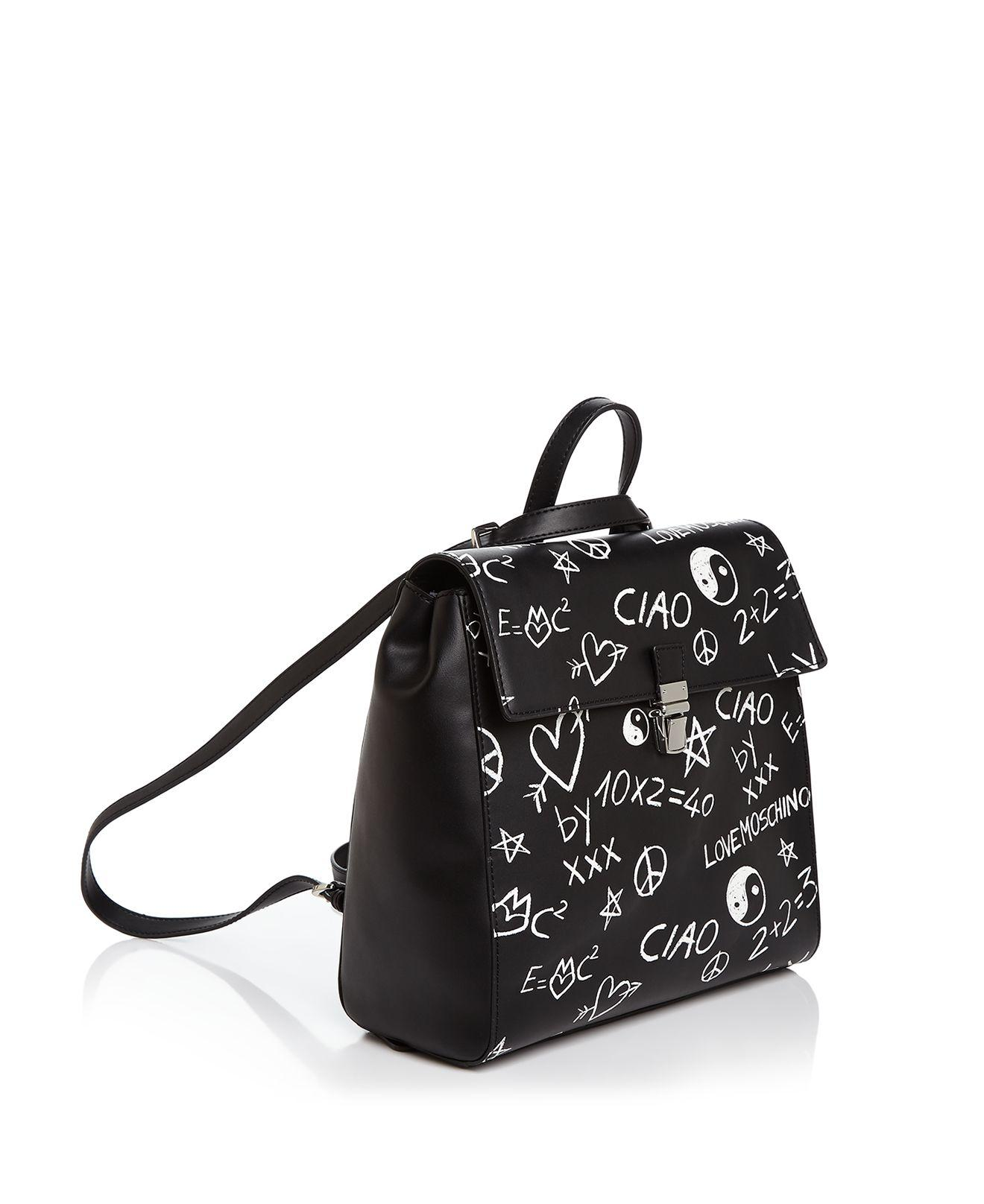 Moschino Amour Sac À Dos Graffiti Moschino réductions TiBWQK8FvK