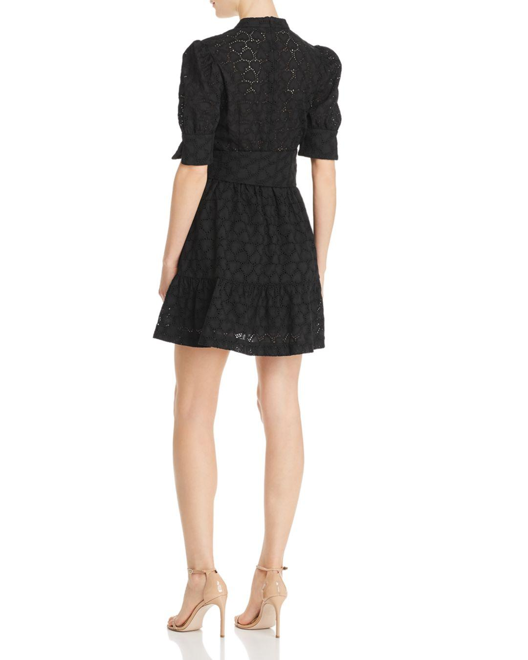 Valentina Heart Motif Eyelet Lyst Rebecca Vallance Lace Belted QrthdCBsx