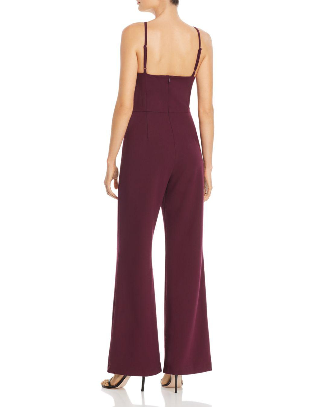 2ec31c051b3 French Connection Whisper Wide-leg Jumpsuit in Purple - Save  56.024096385542165% - Lyst