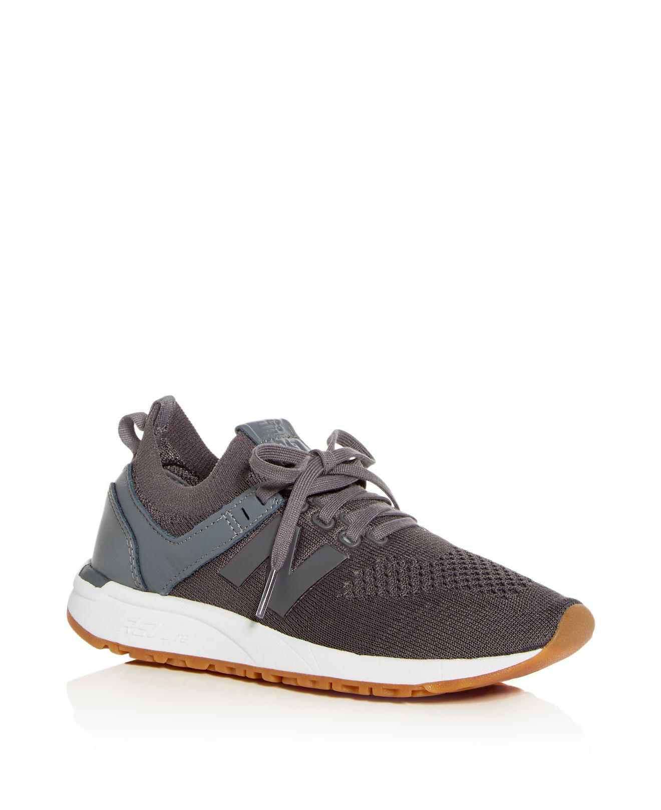 New Balance Women's Deconstructed 247 Knit Lace Up Sneakers fiCDfhF