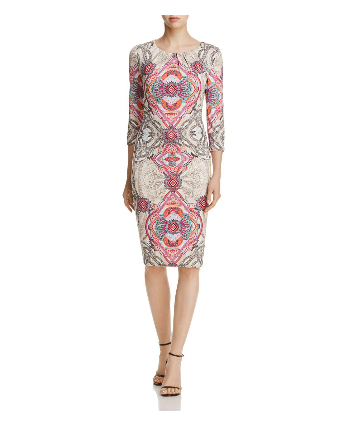 Lyst Basler Kaleidoscope Print Dress