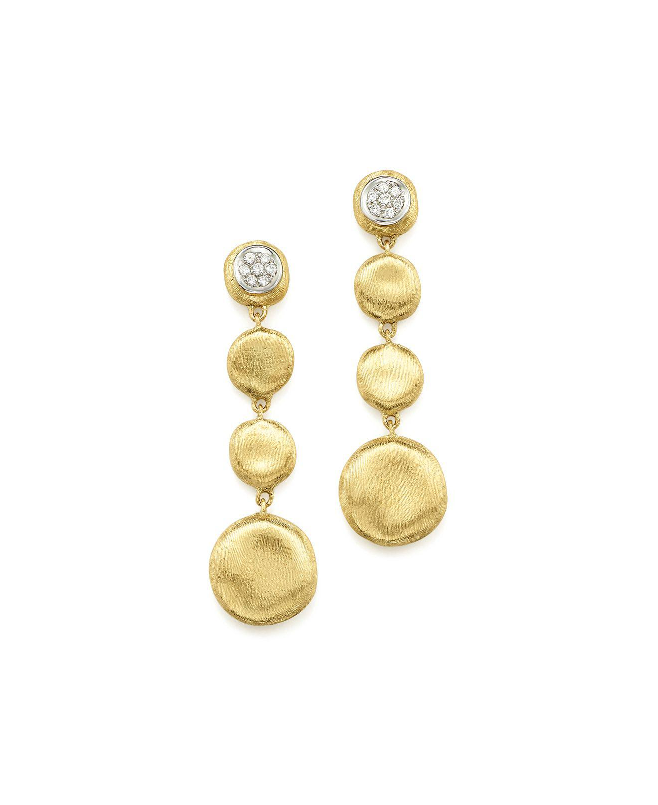 Marco Bicego Jaipur Drop Earrings with Citrine & Diamonds ei242yONG