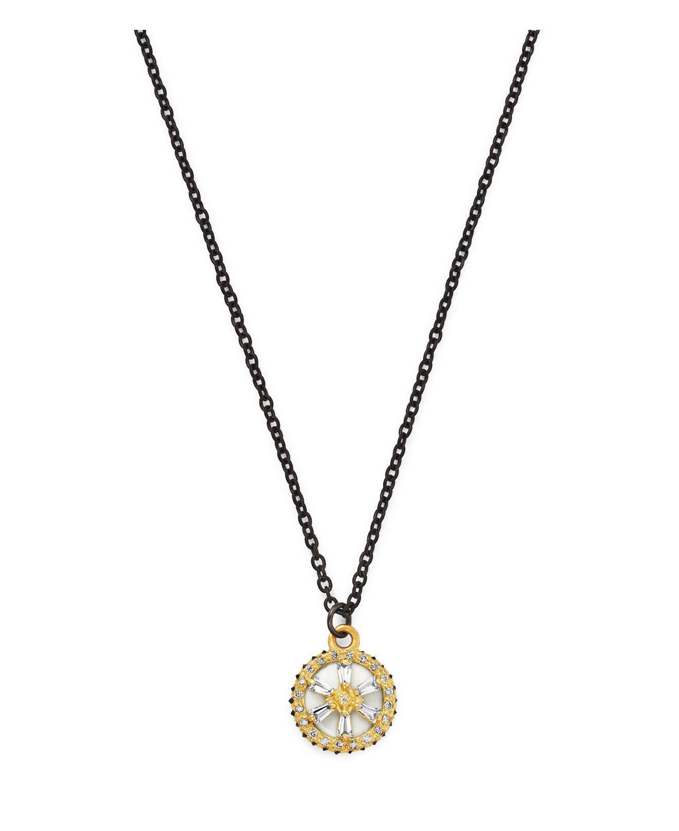 Armenta Old World 18k Diamond Star Pendant Necklace Sr4j2
