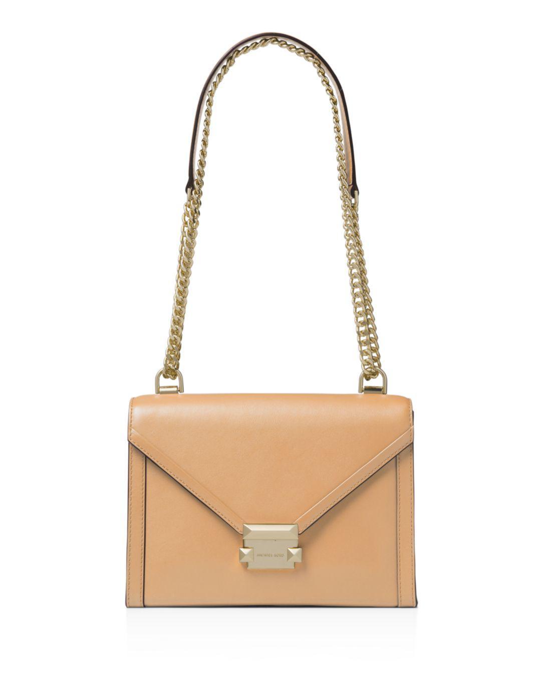 ac47d9f7f0af MICHAEL Michael Kors Whitney Large Leather Shoulder Bag - Save 40 ...