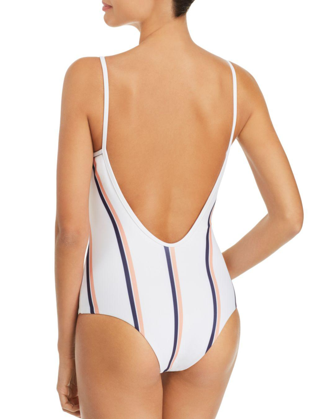 19caf2537a3da Lyst - Tavik Lila One Piece Swimsuit in White