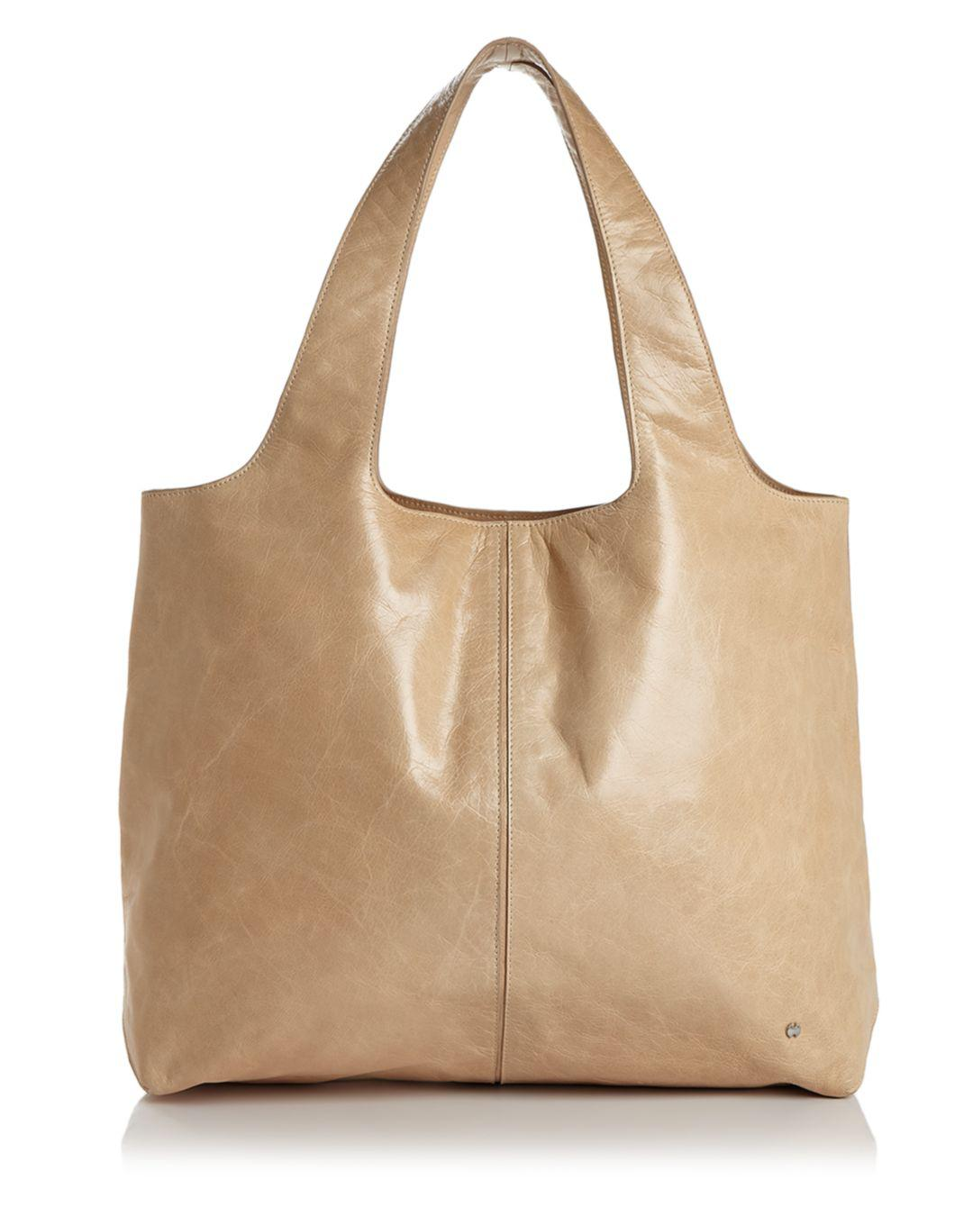 Halston Heritage Tina Large Open Soft Leather Tote - Lyst 70d9871522b60