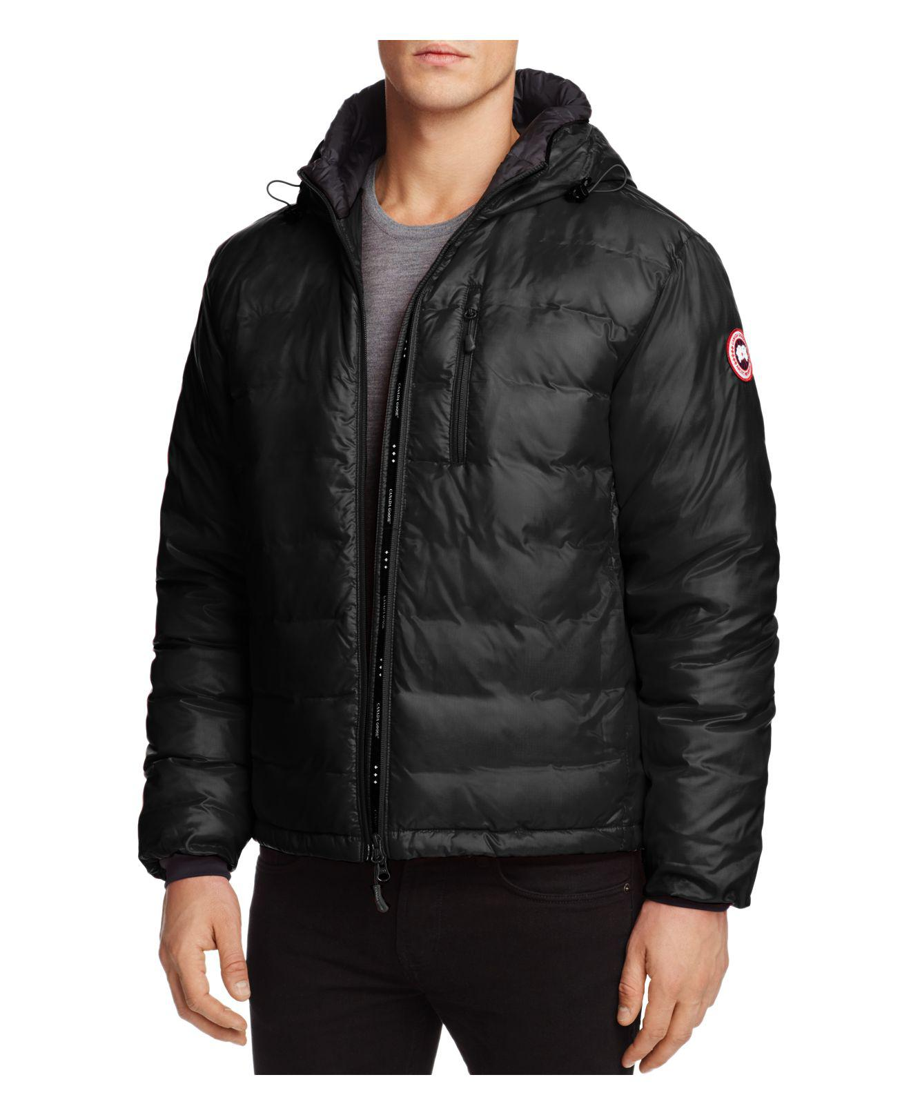 canada goose lodge hooded jacket