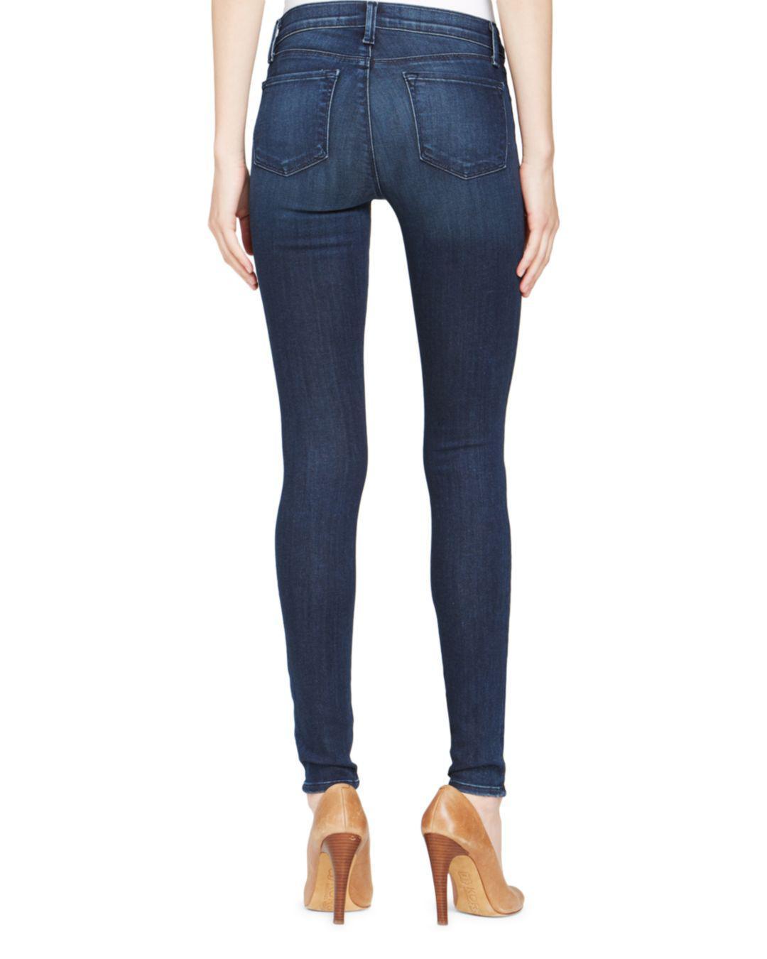 b62dc29d49c9 J Brand Jeans - 620 Mid Rise Super Skinny In Fix in Blue - Save 51% - Lyst