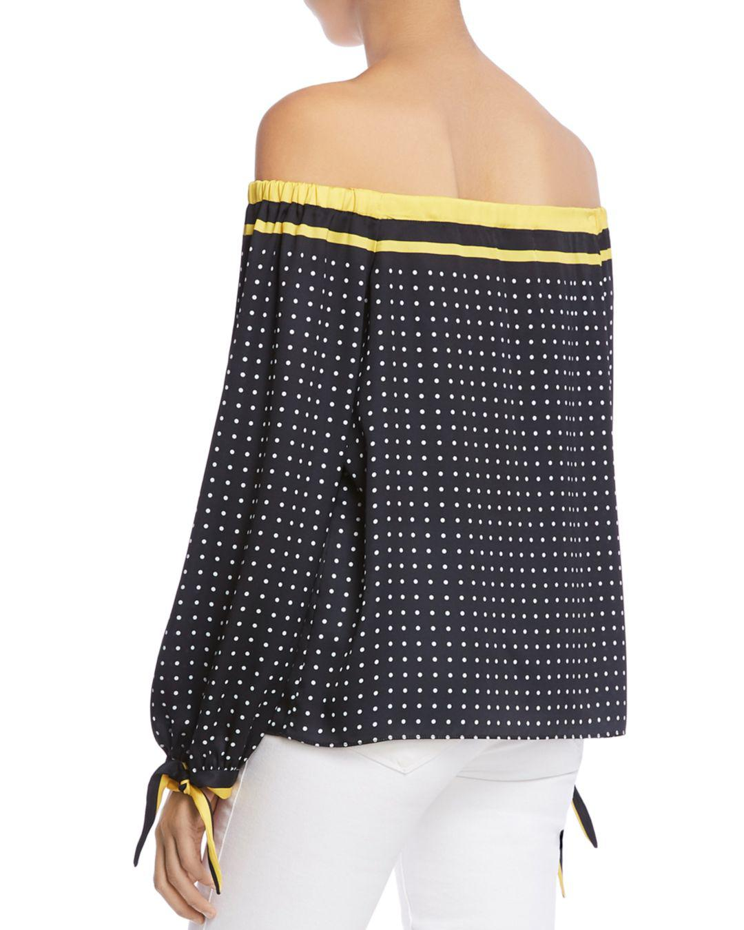 e8dae7867b355 Lyst - Bailey 44 Tabernacle Polka Dot Off-the-shoulder Top - Save 30%