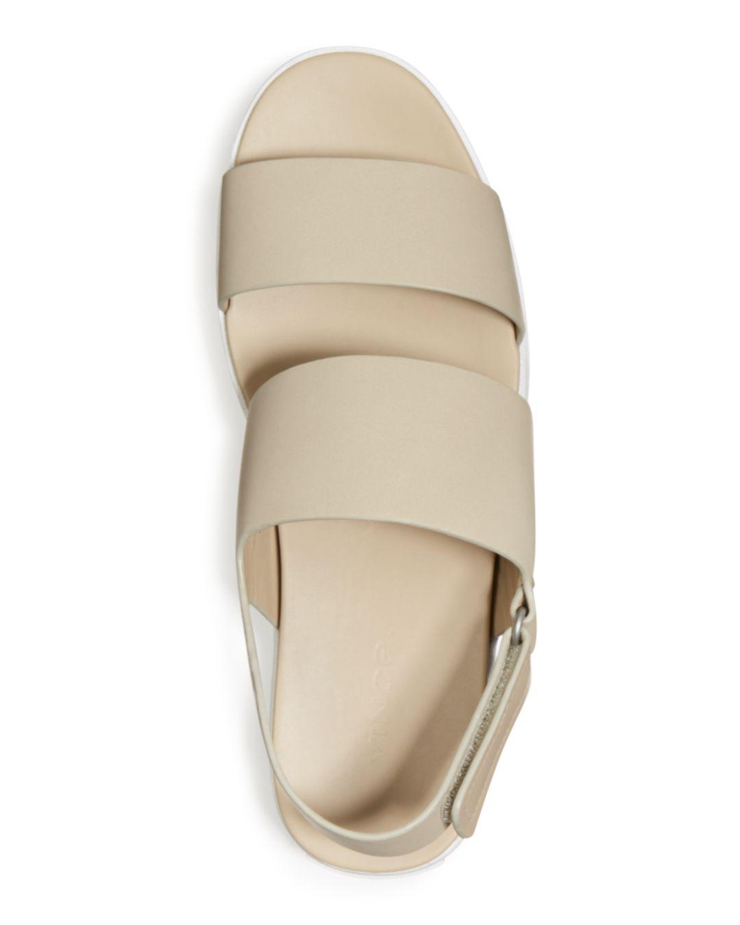 1577c463101 Vince - Multicolor Women s Westport Leather Platform Sandals - Lyst. View  fullscreen