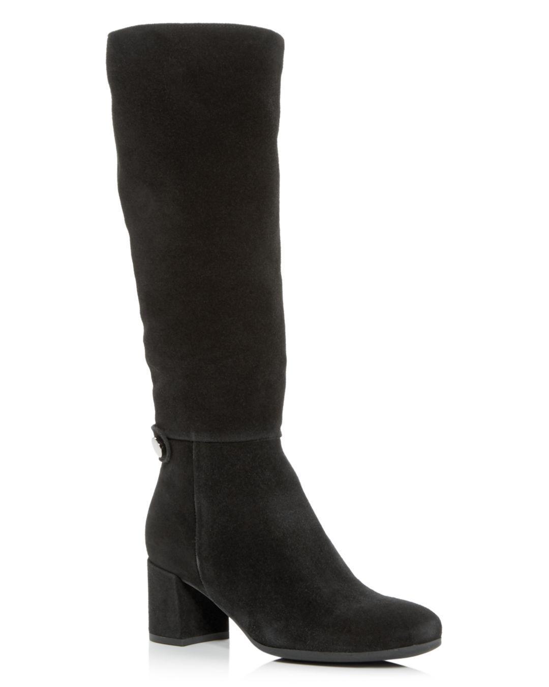 f9e58d1fa57 Lyst - La Canadienne Women s Jenna Waterproof Block-heel Boots in Black