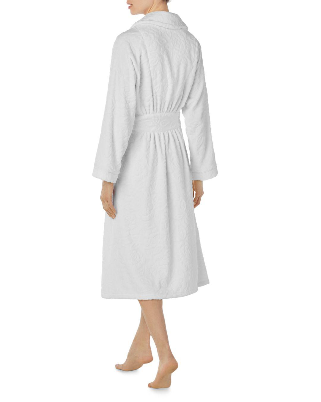cb74ebe323 Lyst - Eileen West Ballet Wrap Robe in White - Save 6%