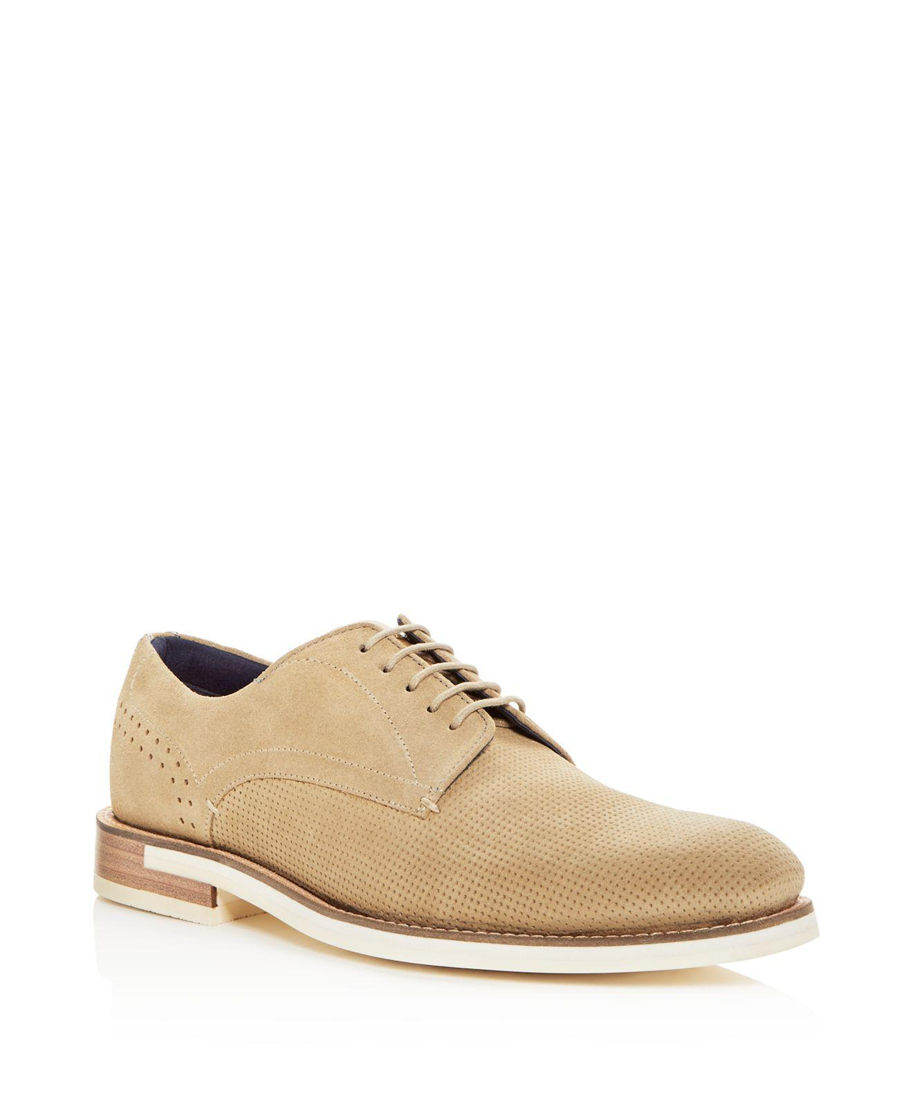 Ted Baker Men's Lapiin Embossed Plain Toe Derby