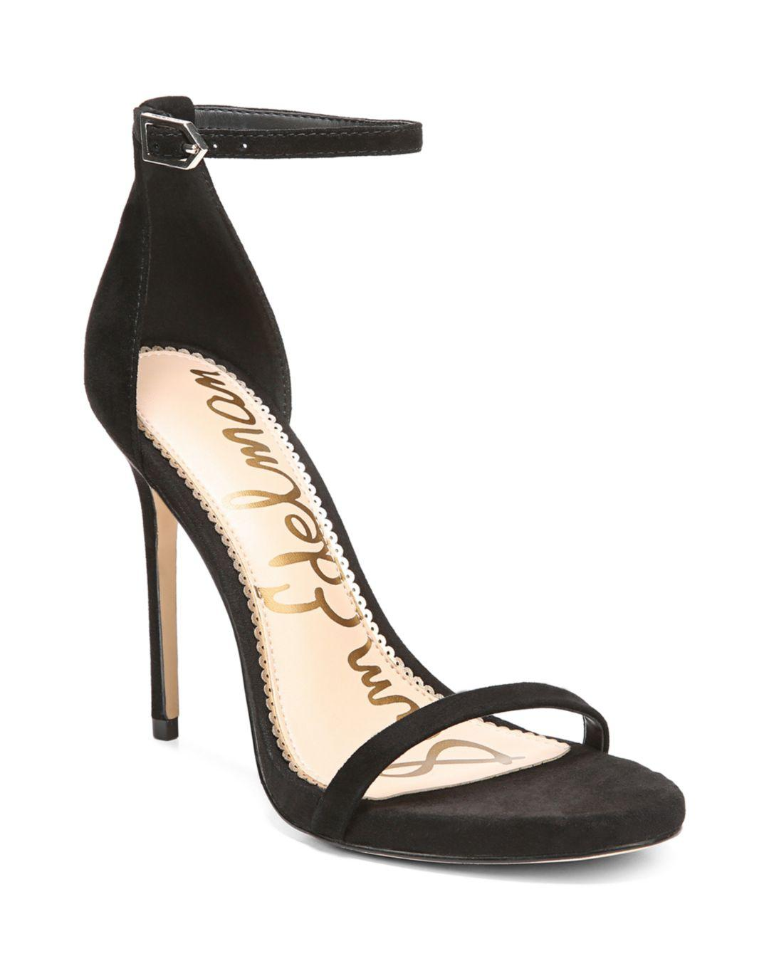 33998223f1f2 Lyst - Sam Edelman Ariella Ankle Strap Sandal in Black - Save 67%